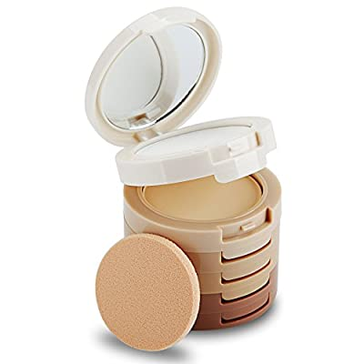 Tinabless 5 Colour Contour and Highlight Makeup Kit Face Make Up Contouring and Highlighting Palette Base Powder Foundation