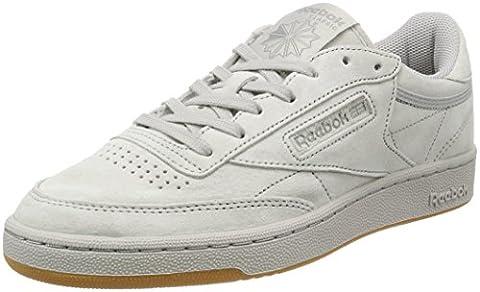 Reebok Herren Club C 85 Tg Sneaker, Grau (Steel/Carbon/Gum), 44 EU
