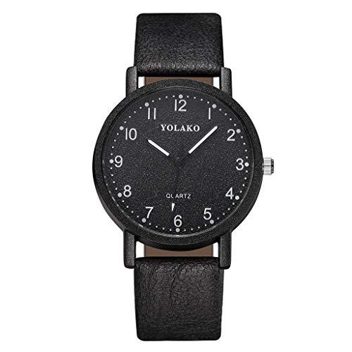 Floweworld Damen Business Uhren Mode Einfache Leder Dial Gürtel Stahl Armbanduhren Minimalism Quarzuhren