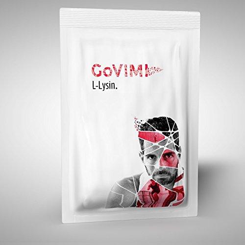 GoVIMI L-Lysin Mikrotabs 100g, 559mg/g, produziert in der Schweiz (Hähnchenbrust 100%)