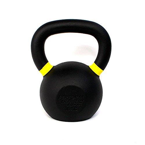 Perform Better Erwachsene PB Black (Stück) 16kg Kettlebell, Schwarz, 16 kg