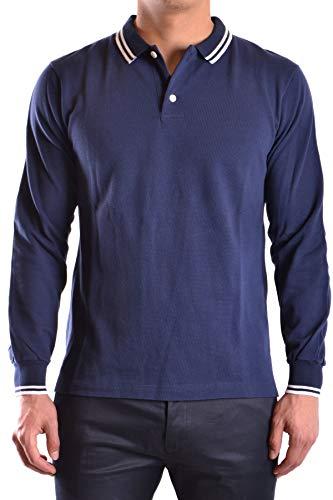 Marc Jacobs Herren Mcbi23556 Blau Baumwolle Poloshirt