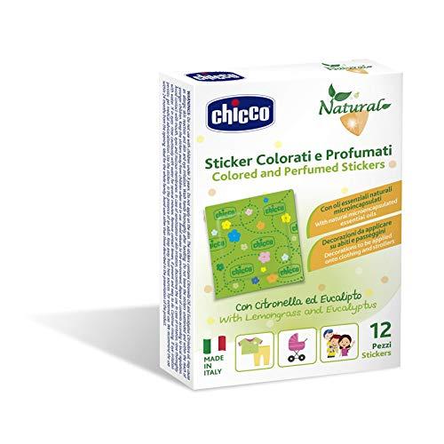 Chicco cerotti sticker colorati e profumati alla citronella, verde