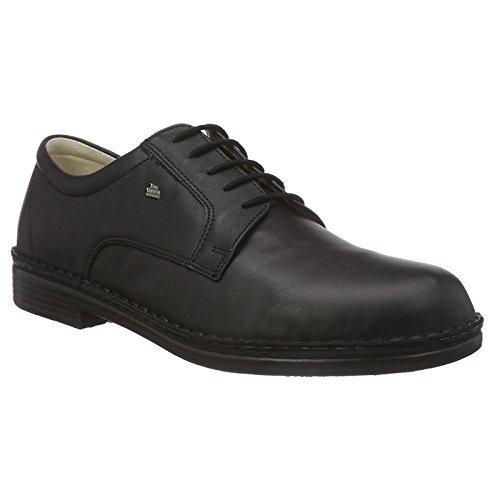 Soft Comfort Schuhe (Finn Comfort Milano, Herren Oxford Schnürhalbschuhe, Schwarz (Schwarz), 43 EU (9 Herren UK))