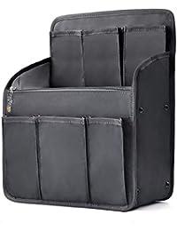 bag in bag Women Grils Shoulders Bag Rucksack Insert Backpack Organiser Expandable Black