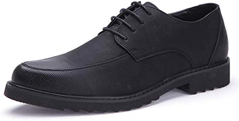 les hommes en cuir souple d'oxford lightsome classique formelle formelle formelle de chaussures chaussures cricket dentelle 394826