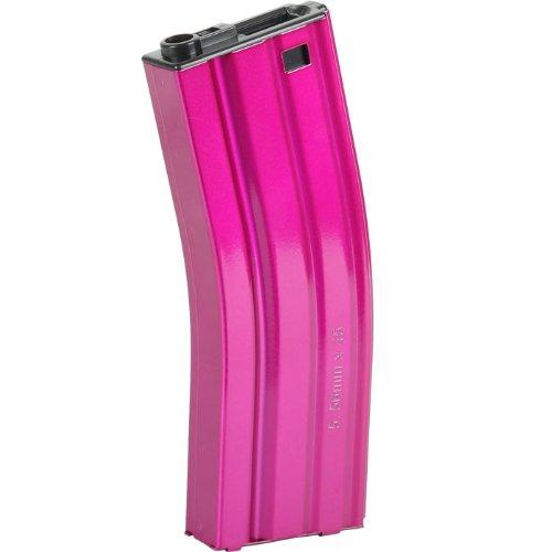 G & G M4 Magazin 450 Schuss pink Softair Zubehör (Freie Airsoft-magazin)