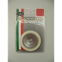Joint en caoutchouc et filtre de remplacement pour cafetière italienne GAT Fabriqué en italie. 3 Cups 65mm