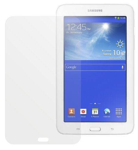 dipos Samsung Galaxy Tab 3 Lite Schutzfolie (2 Stück) - Antireflex Premium Folie matt