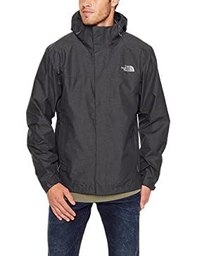 The North Face M Venture 2 Jacket Chaqueta, Hombre, Gris Oscuro, M