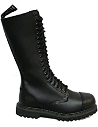 Calzature & Accessori militari neri con punta rotonda per donna Grinders Comercializable Barato Aclaramiento Asequible pLnOlF6