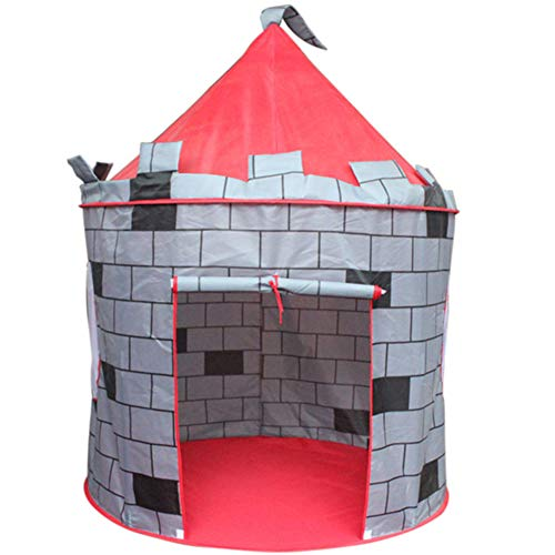 Faltbares Spielzelt Faltbares Anti-Real Schloss Kinder Spielzelt Sonnenschirm Regen Kinder Freude Zelt Umweltschutz Material Atmungsaktiv Kinderzelt