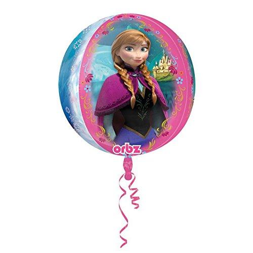 amscan 2981601 Die Die Eiskönigin Folienballon Kugel Frozen, Multi (Halloween Zeigt Großbritannien)