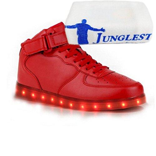 (Présents:petite serviette)JUNGLEST® - Baskets Lumin Rouge