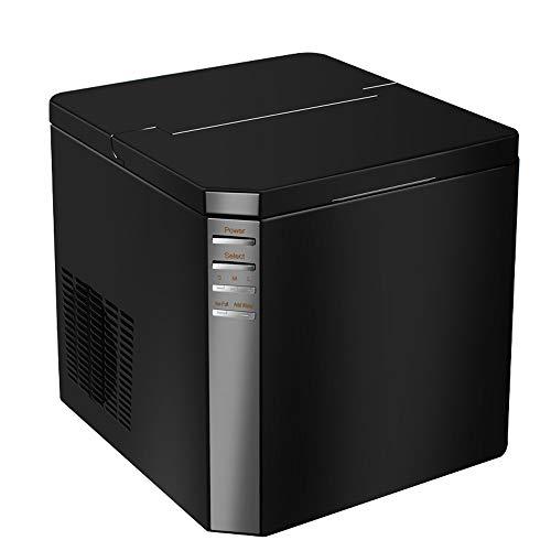 Eismaschine - Vollautomatisch Für Den Haushalt/Gewerbe/Desktop/Tragbar/Ohne Pfeife/Schnelle Eismaschine, Tagesleistung 25kg, 220v