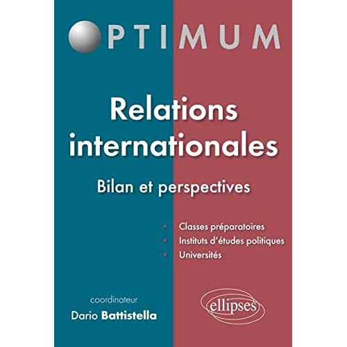 Relations Internationales Bilan et Perspectives