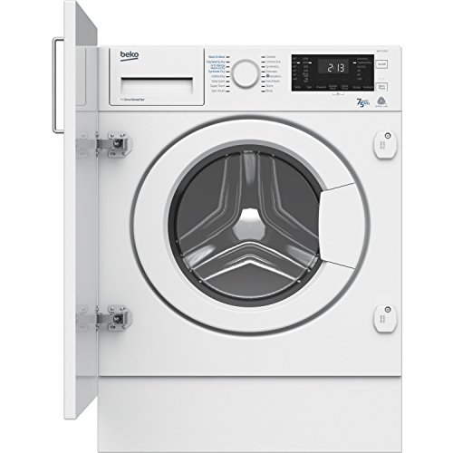 Beko WDIC7523002 Built In 1200 Spin 7kg Wash 5kg Dry Washer Dryer