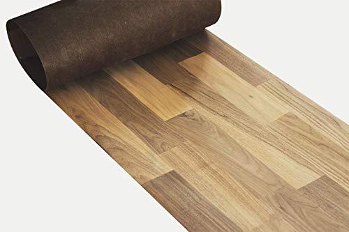 Foglio per impiallacciatura in legno di Parquet Noce per la produzione di mobili o decorazione da parete 205cm x 60cm / Impiallacciatura di legno/Intarsio/Mobilio/Legno