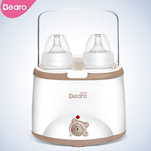 Baby-Flaschenwärmer Dampf-Sterilisator 3-in-1, schnell Milchwärmer gleichmäßig Heizung Babynahrung