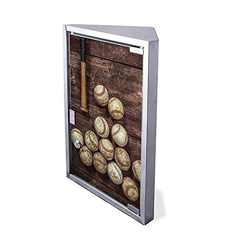 Edelstahl Medizinschrank Eckschrank abschließbar 30x17,5x45cm Badschrank Hausapotheke Arzneischrank Bad Vintage