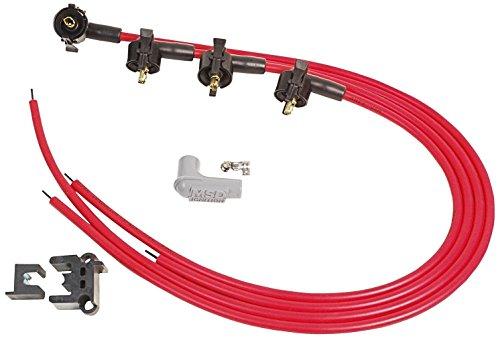 MSD Ignition Super conducteur Spark Plug Fil Set - 4 Cylindre Midget PN : 31689