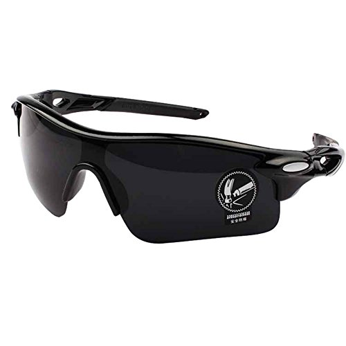 WeiMay Cycling Sunglasses, Polarized Anti-glare Rain Day Night Vision Ciclismo Occhiali da sole Sport Occhiali da sole per uomo Donna
