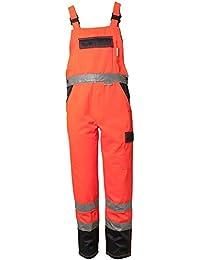 """Planam Latzhose """"Warnschutz"""", Größe 56 in orange / marine, 1 Stück, 2026056"""