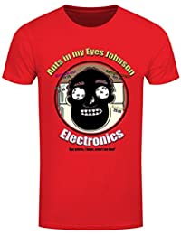 T-Shirt Ants In My Eyes Johnson Homme Rouge