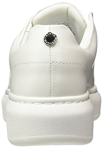 Steve Madden Hara Sneaker, Scarpe da Ginnastica Basse Donna Bianco (White)