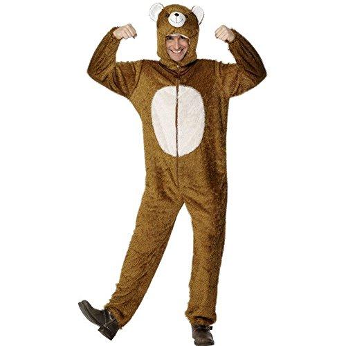 �m Bär Bärenkostüm Braunbär Teddy Karneval Fasching Gr.L ()