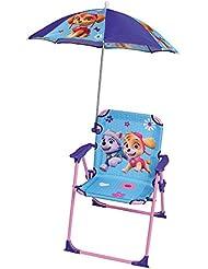 Fun House Patrouille Stuhl mit Sonnenschirm Unisex Kinder, Grün