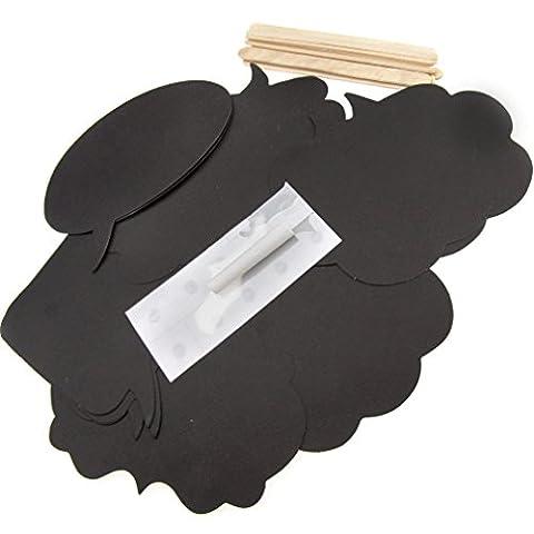 Masque Pour Prom - 10 x Les Accessoires pour DIY Carte
