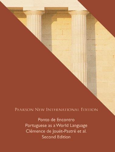 Ponto de Encontro: Pearson New International Edition: Portuguese as a World Language (English Edition)