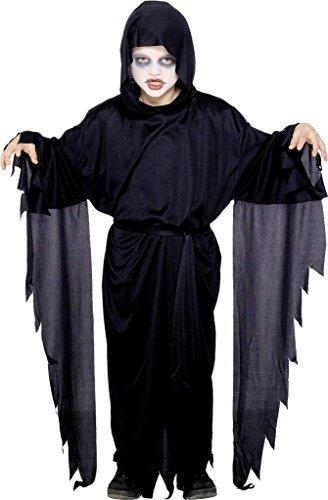 Kinder Robe Scream Kostüm - Jungen Kinder Halloween Scream Robe Maskenkostüm Größe L 10 bis 12