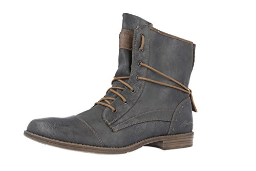 Mustang Damen Stiefelette Grau, Schuhgröße:EUR 43