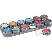 Maketup - Maquillaje al agua paleta brillante p12