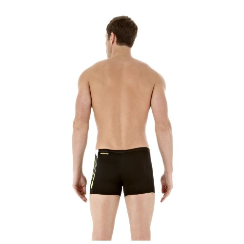 DivePower speedo placement panel boxer de bain pour homme Noir - Noir/Vert