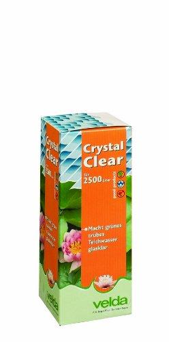 Velda 120032 Wasseraufbereiter gegen Grünes Wasser für 2500 l Teichvolumen, Crystal Clear 250 ml