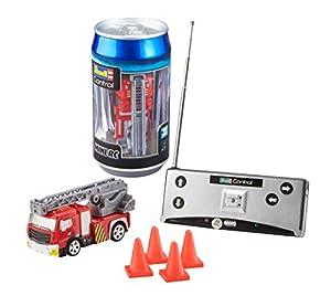 Revell- Mini RC Car Fire Truck Juguetes a Control Remoto, (23558)