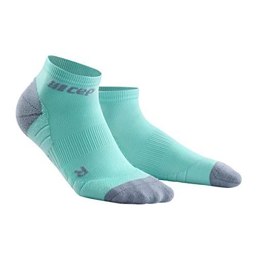 CEP - Low Cut Socks 3.0 für Herren | Kurze Sportsocken für Dein Workout in hellblau/grau | Größe IV