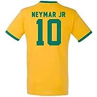 Neymar Brazil Ringer Tee