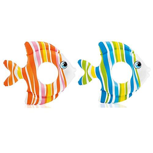 Pinfect Cartoon Fish Baby Swimming Ring Pool Armpit Float Toddler Water Swim Toys