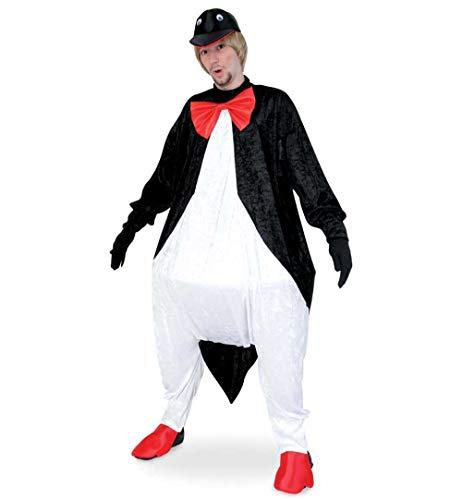 Kostüm 3 Madagascar - KarnevalsTeufel Erwachsenenkostüm Pinguin Overall mit Mütze und Reifrock