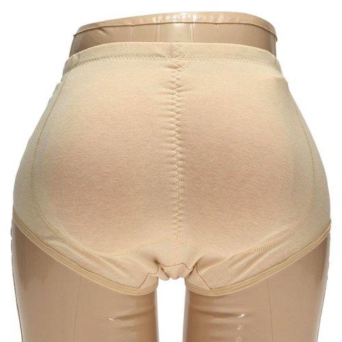 G for U Po Push Up Prothèses en silicone pour des fesses rebondies Taille S/M/L/XL beige