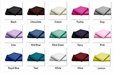 Queens Land Home Non Iron Percale Pollycotton Flat Sheet