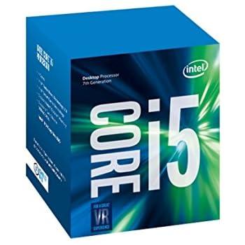 Intel Core I5-7400 - Procesador con tecnología Kaby Lake (Socket LGA1151, Frecuencia 3 GHz, Turbo 3.5 GHz, 4 Núcleos, 4 Subprocesos, Intel HD Graphics 630)