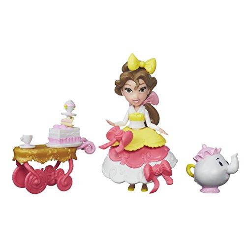 Hasbro Disney Prinzessin B5335ES0 - Disney Prinzessin Little Kingdom Belles Servierwagen, Figuren