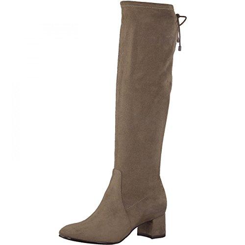TAMARIS Damen Stiefel Beige, Schuhgröße:EUR 40