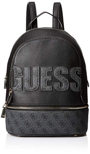 Guess Skye Large Backpack, Zaino Donna, Grigio (Coal), 14x38.5x30 cm (W x H x L)