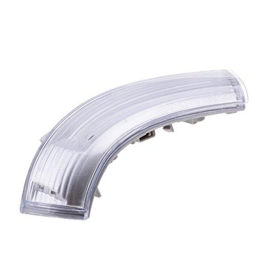 Preisvergleich Produktbild MagiDeal 1 Stück Blinker Spiegelleuchte Ersatz Außenspiegel Beleuchtung für alle Autos - Weiß - links